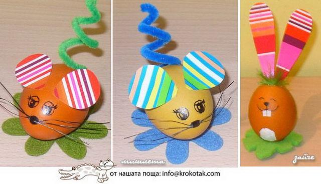 Поделки из яиц в детский сад